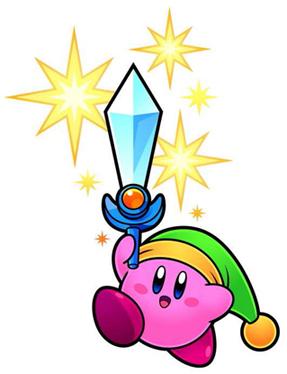 , gobez vos ennemis et utilisez leurs pouvoirs dans Kirby Super Star