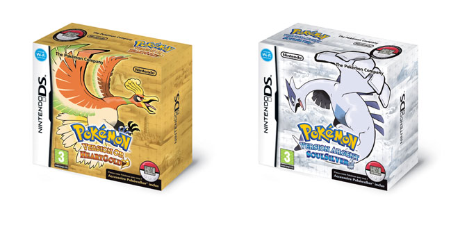 Pokémon Version Or HeartGold et Pokémon Version Argent SoulSilver