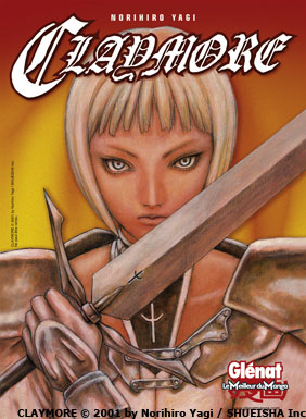 Claymore - Edition Glénat