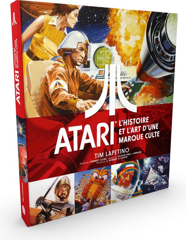 Atari l 39 histoire et l 39 art d 39 une marque culte asia - Livre cuisine marque culte ...
