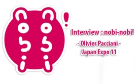 Interview Olivier Pacciani - Japan Expo 11