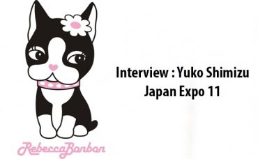 Interview Yuko Shimizu - Japan Expo 11