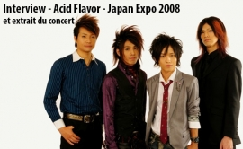 Interview Acid FLavoR - Japan Expo 2008