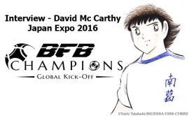 Interview : David Mc Carthy - BFB Champions - Japan Expo 2016