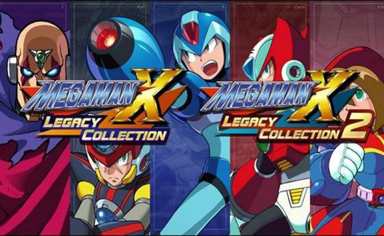 Sortie de Megaman X Legacy Collection