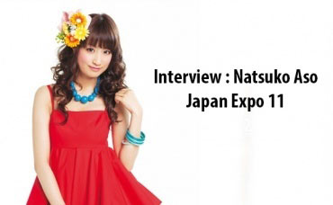Interview Natsuko Aso - Japan Expo 11